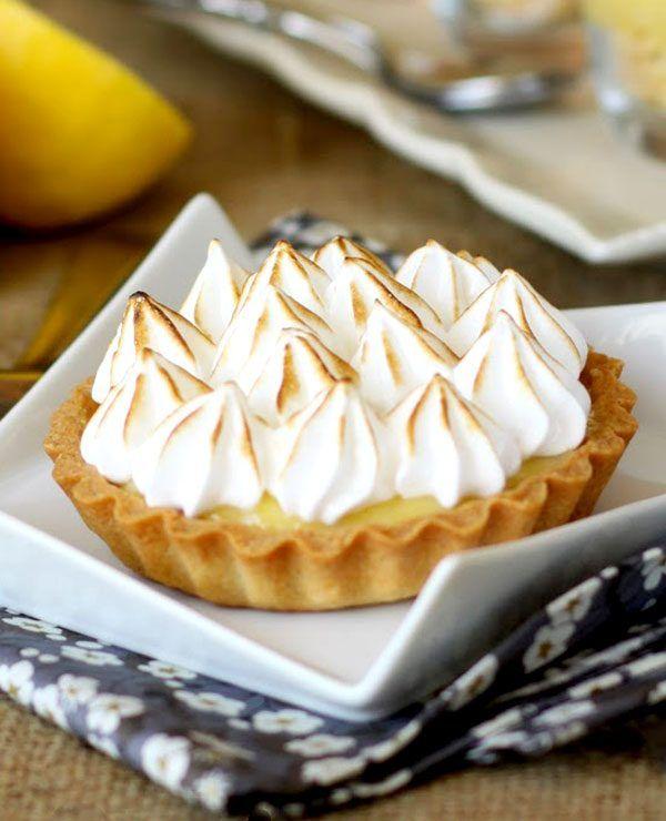 Mini Lemon Meringue Pies
