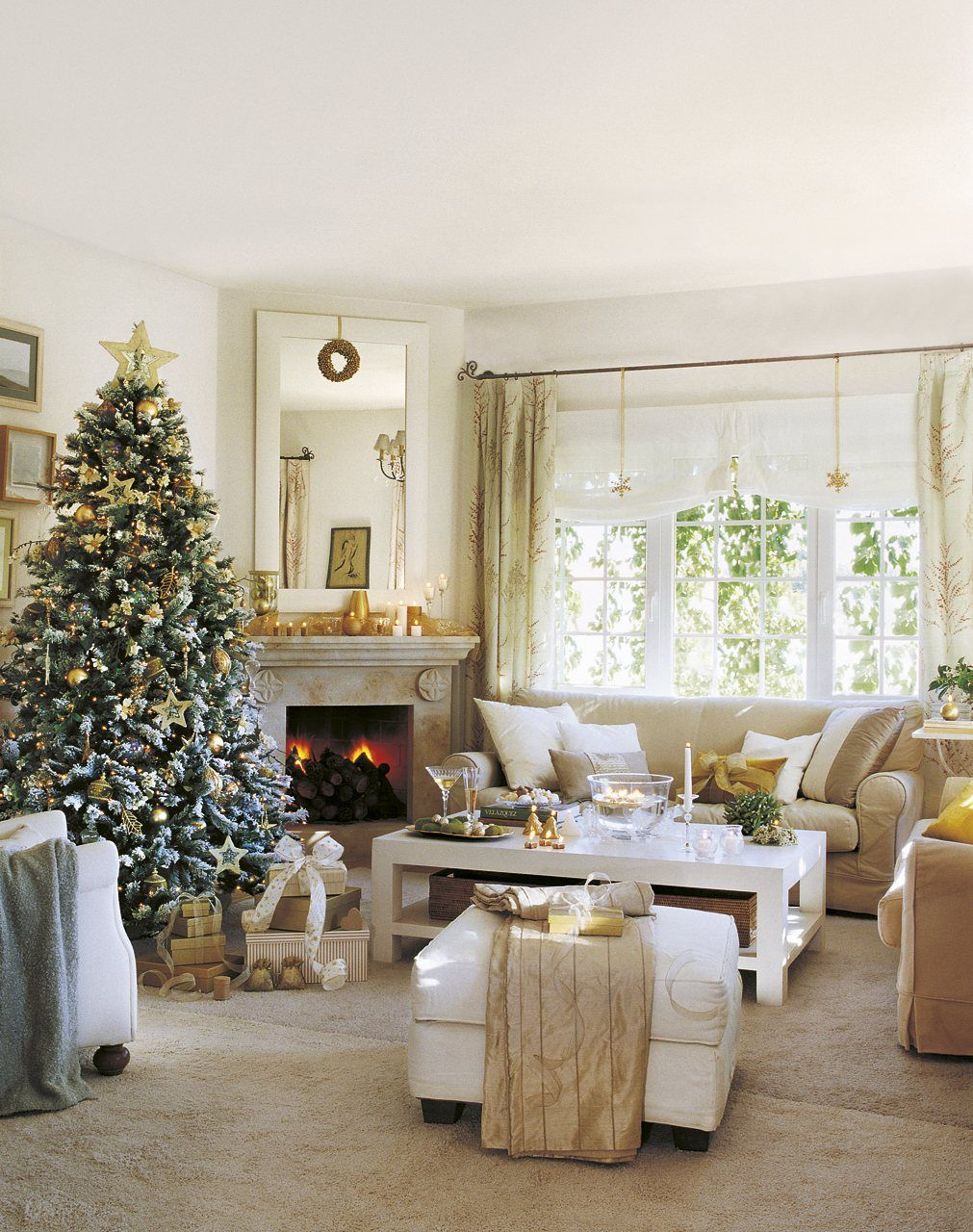 Ventana junto a chimenea ideas decoracion pinterest - La chimenea decoracion ...