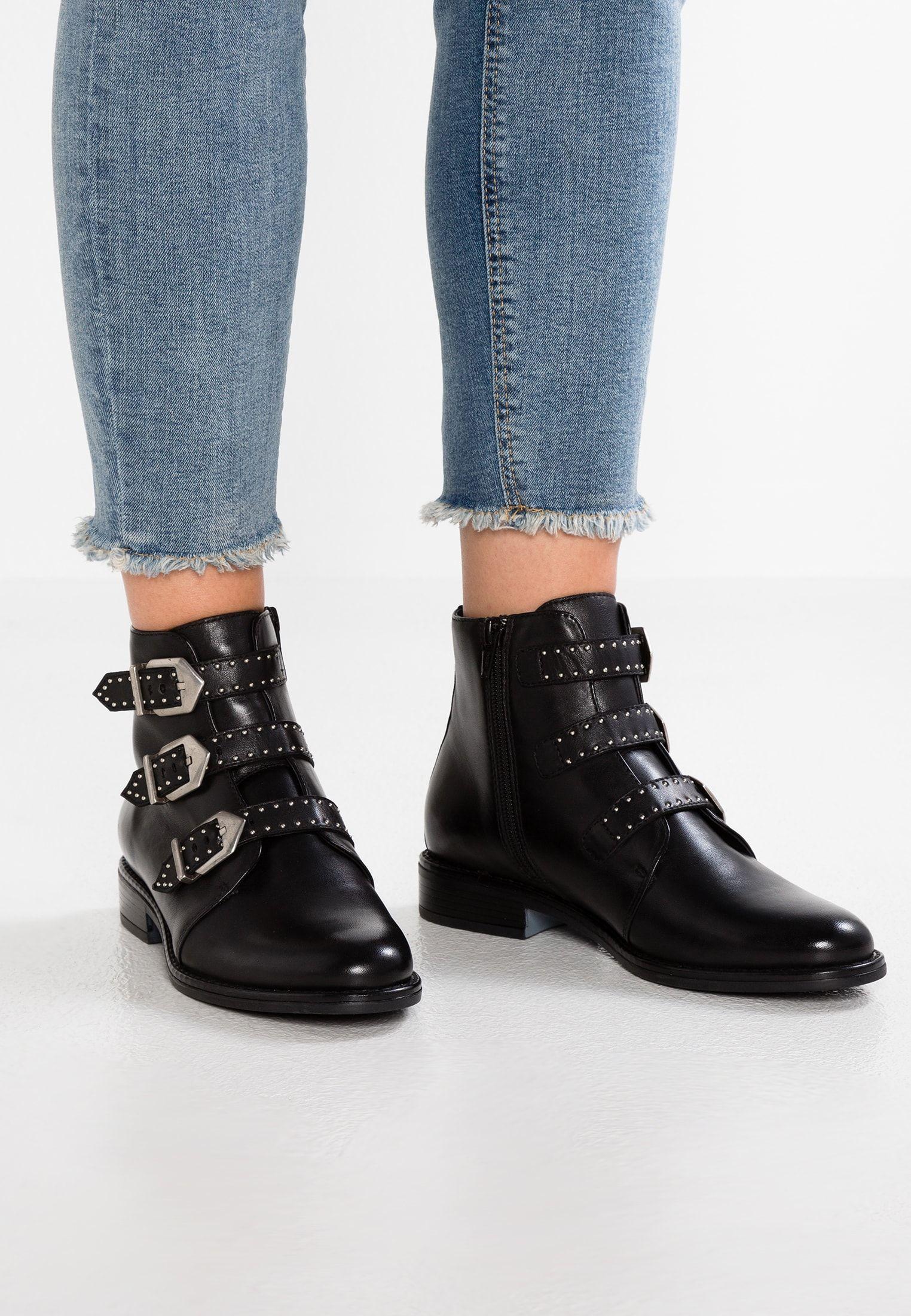 size 40 795df b8f9d Boots à talons - black @ ZALANDO.FR 🛒   Whislist   Black ...