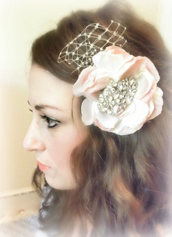 123fe788d Luxe Shabby Chic Hair Accessory by AliChristineBridal