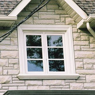 exterior window trim ideas | Photo courtesy of Atlanta Plan Source ...