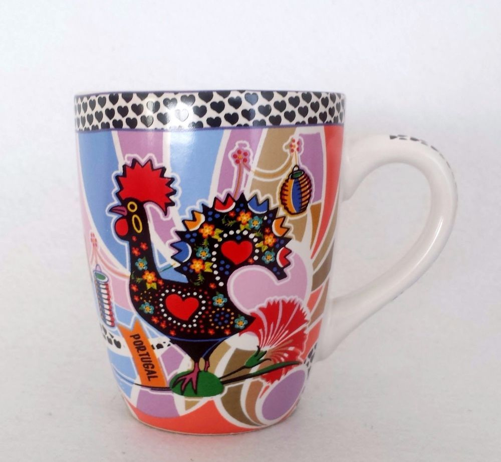 Arte Cafe Benfica Details About Portuguese Barcelos Rooster Coffee Tea Mug Portugal
