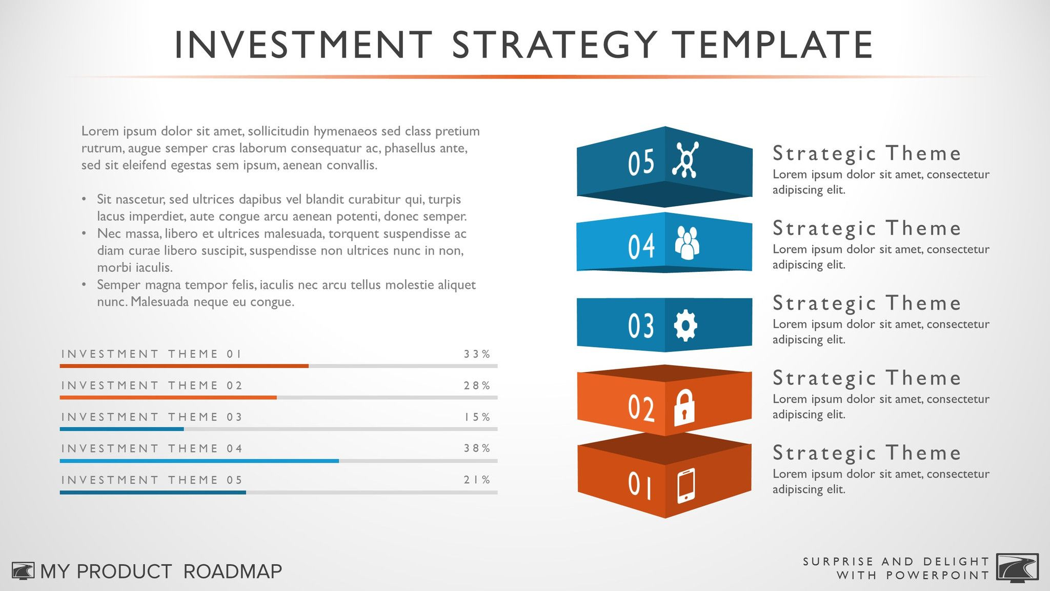 Product Investment Strategy Template  Template Ppt Template And
