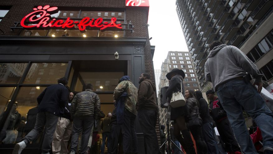 Chick-fil-A has already been subject to a heightened level of scrutiny in New York City. While over half of the city's restaurants are rat-infested,the openly Christian chicken shop had been targeted by the city for …