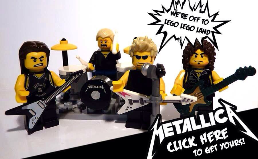 KISS Rock and Roll Band Custom Minifigure Set Custom Minifigures