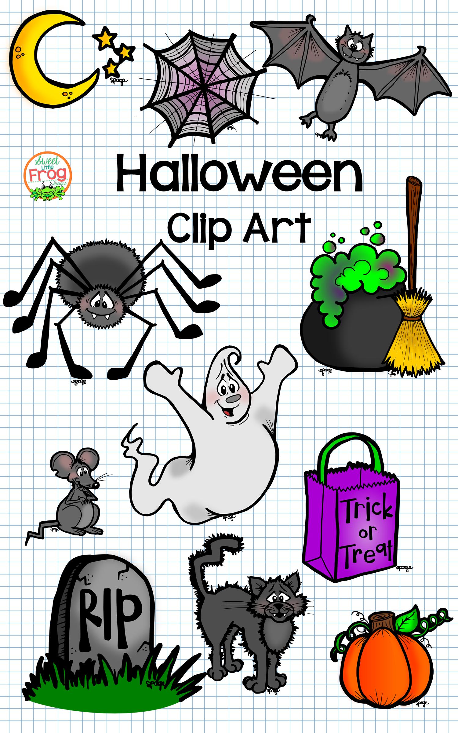 Halloween Clip Art Halloween Extras