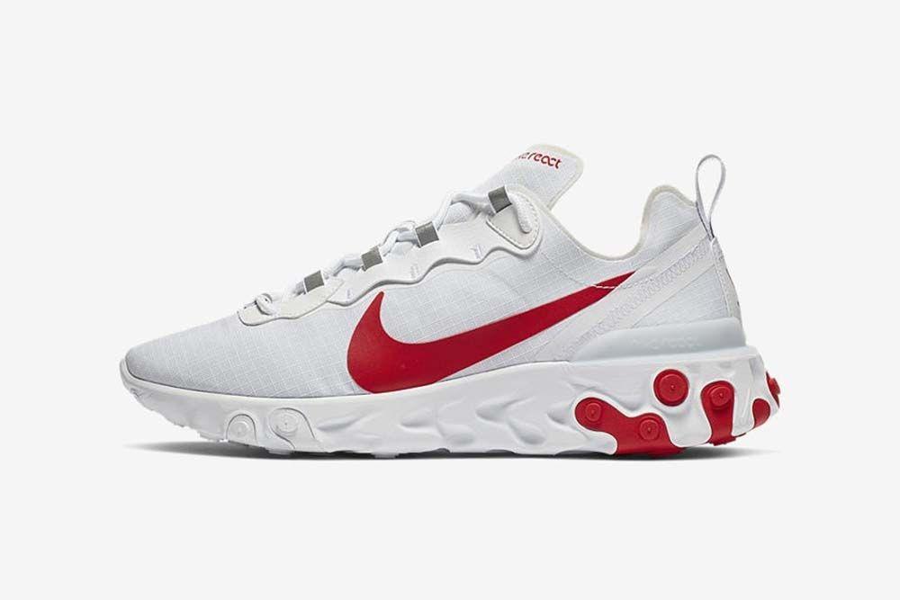 Nike React Element 55 nadchodzą w nowej wersji White / Bright ...