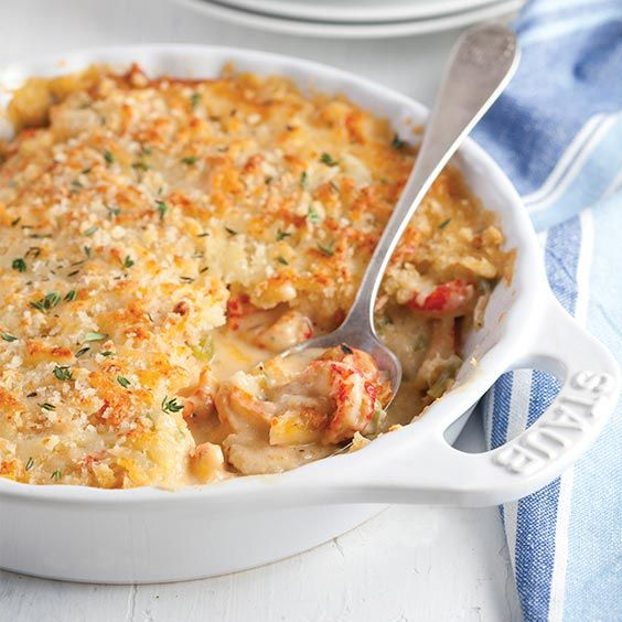 Crawfish Gratin Louisiana Cookin Recipe Crawfish Recipes Louisiana Crawfish Recipes Louisiana Recipes
