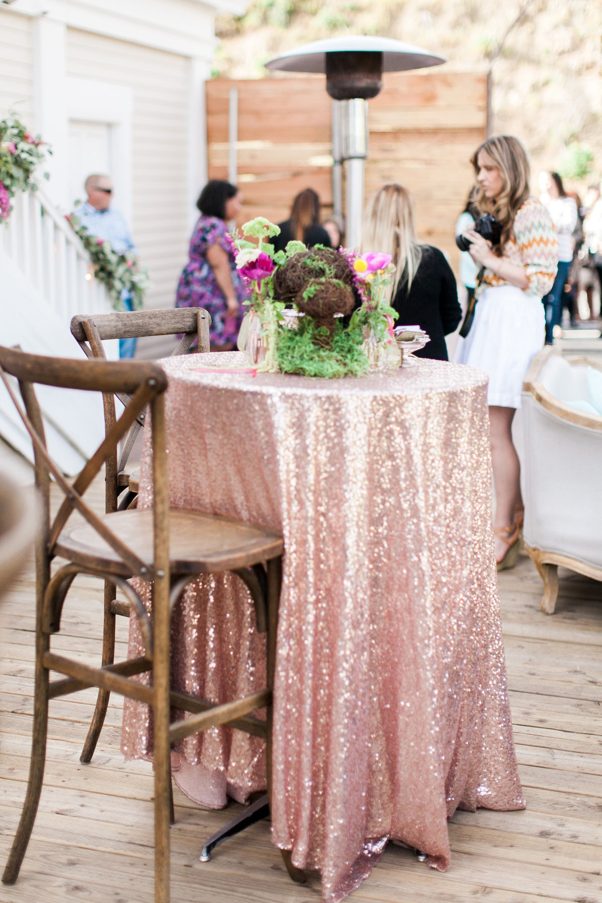 Blush Sequin Tablecloth Sequin Table Linen Rose Gold Etsy Gold