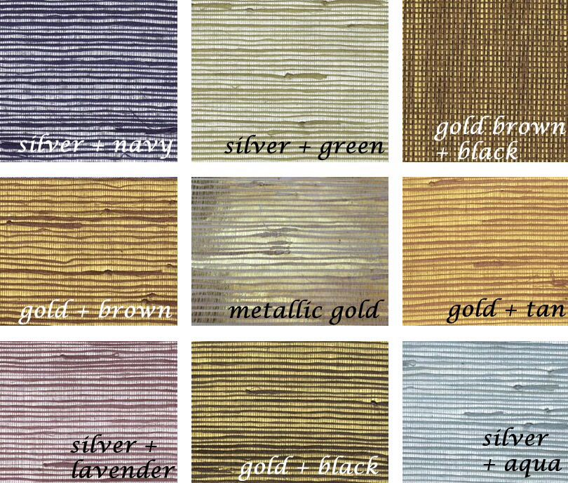 Grasscloth wallpaper Grasscloth wallpaper, Bathroom
