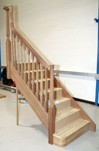Best Continuous Handrail Tiny House Stairs Staircase House 400 x 300