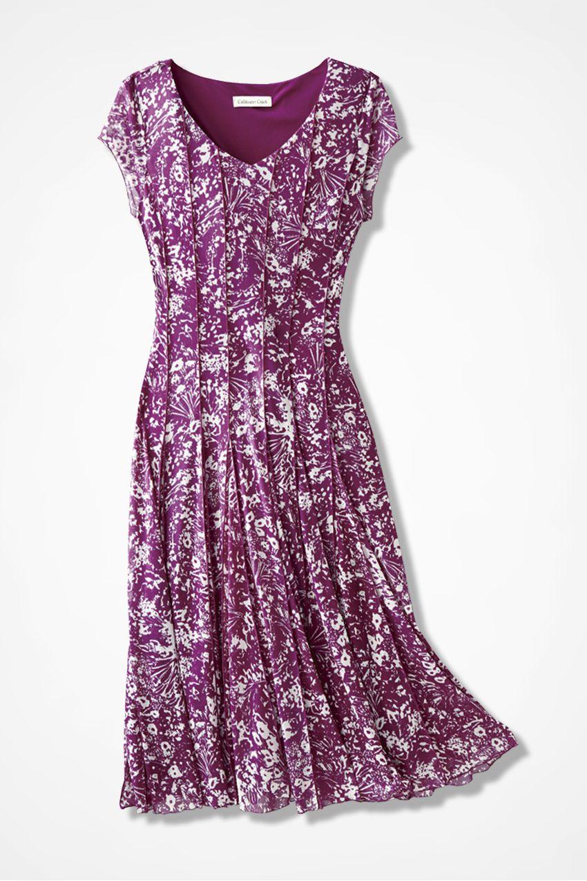 5ffb537dc5 Black Abstract Floral Mesh Knit Dress - Women s Dresses