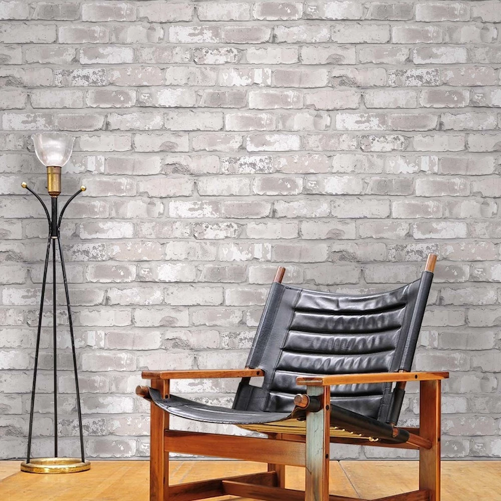 Best Irwell White Grey And Cream Brick Effect Wallpaper Brick 640 x 480