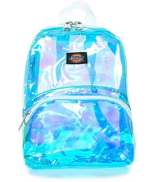 6683b5ea97a Highlighting some of the latest trends, the Iridescent Mini Festival  Backpack from Dickies is here and just in time for sunny adventures.