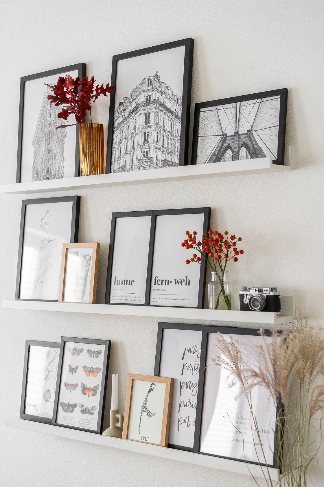 Fotowand gestalten – 5 Tipps & kreative Ideen