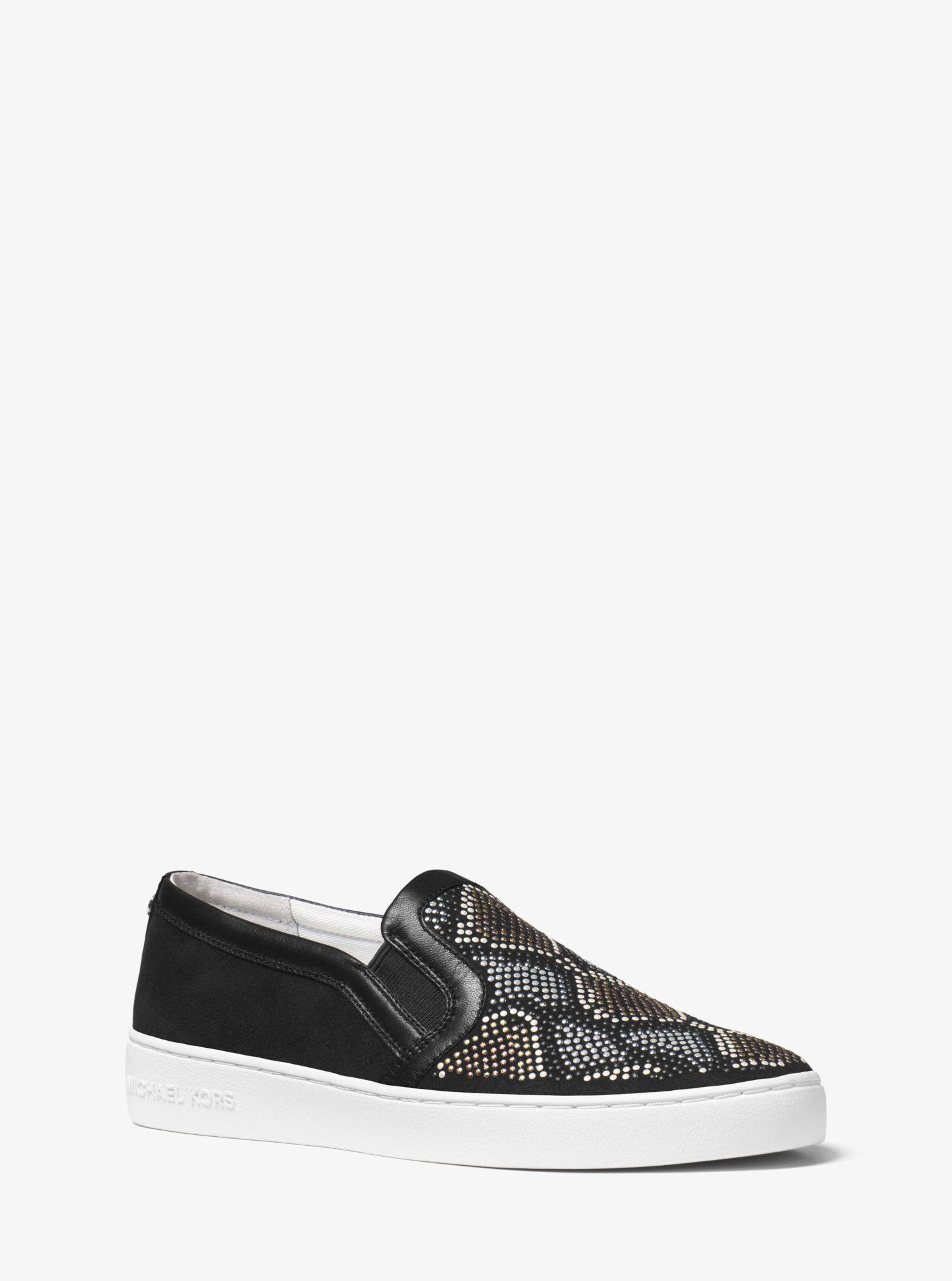 vans classic slip on italian leather all black