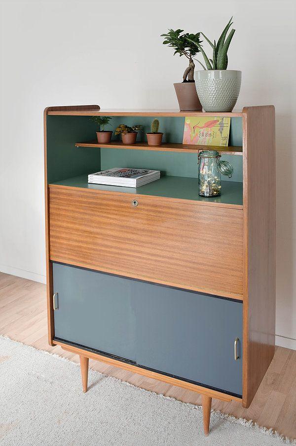 secr taire vintage desamble deco maison pinterest secretaire vintage secr taire et meubles. Black Bedroom Furniture Sets. Home Design Ideas