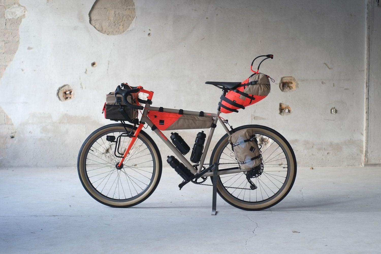 Gramm Tourpacking Show Bike Im Rahmen Der Berliner Fahrradschau
