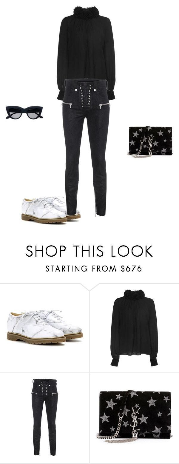 """""""Untitled #11131"""" by explorer-14576312872 ❤ liked on Polyvore featuring Charlotte Olympia, Giambattista Valli, Unravel and Yves Saint Laurent"""