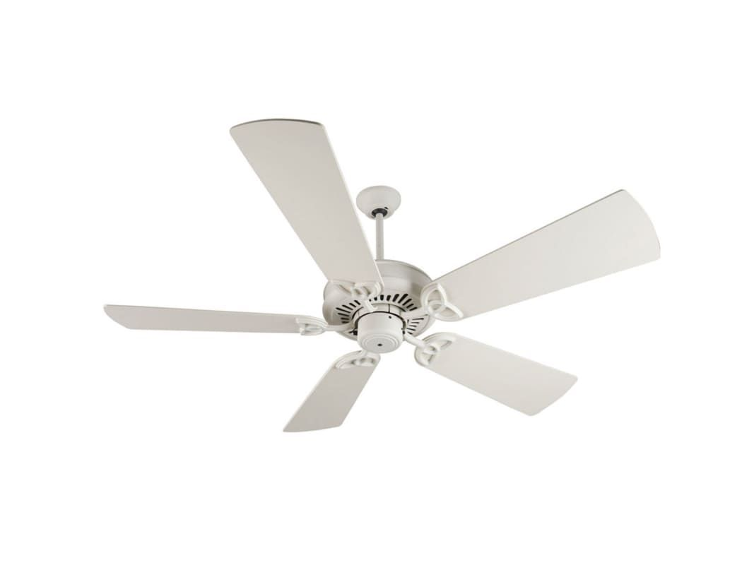 "Craftmade K10820 American Tradition 54"" 5 Blade Energy Star Indoor Ceiling Fan - Antique White Fans Ceiling Fans Indoor Ceiling Fans"