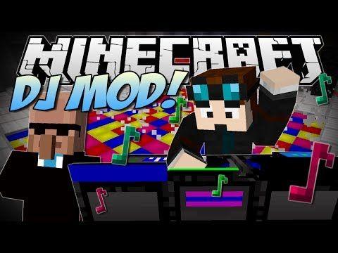 Minecraft Dj Party Mod Dr Trayaurus Ultimate Party Mod Showcase Dj Party Dj Dj Decks