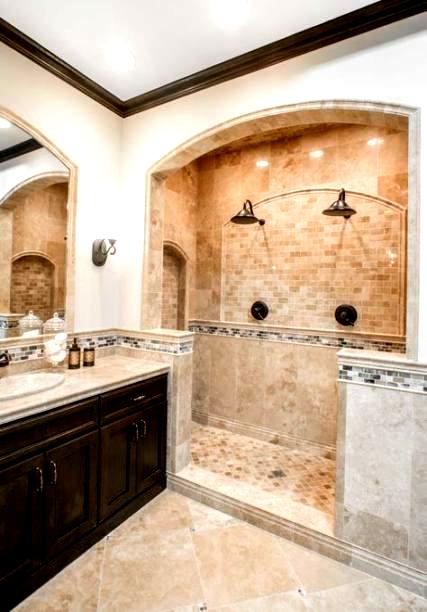 60 Best Ideas Bathroom Tiles Beige Master Bath Bath Bathroom Bath Bathroom Bath Bathroom Bath In 2020 Brown Tile Bathroom Travertine Bathroom Beige Bathroom