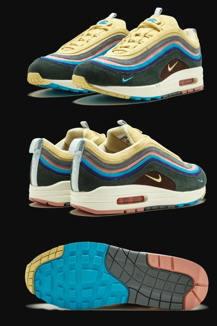 Nike AIR MAX 1/97 VF SW Sean Wotherspoon (Light Blue