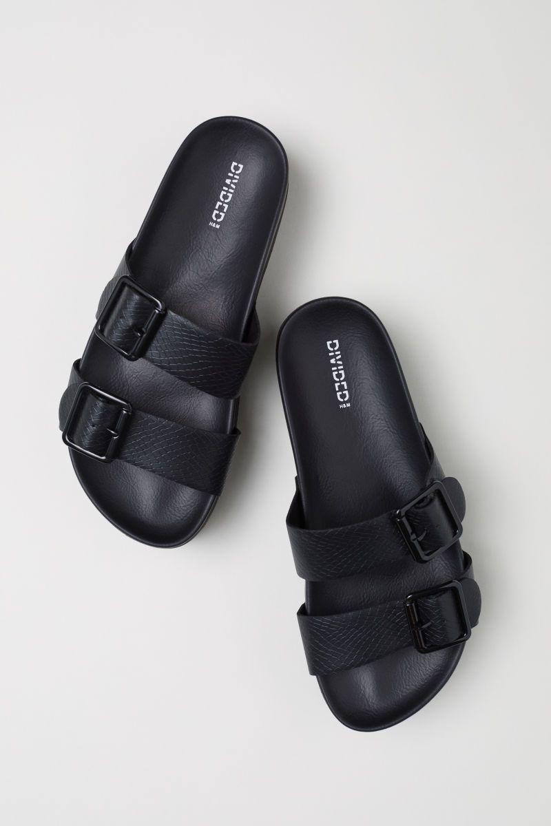 Black sandals, Birkenstock, Sandals