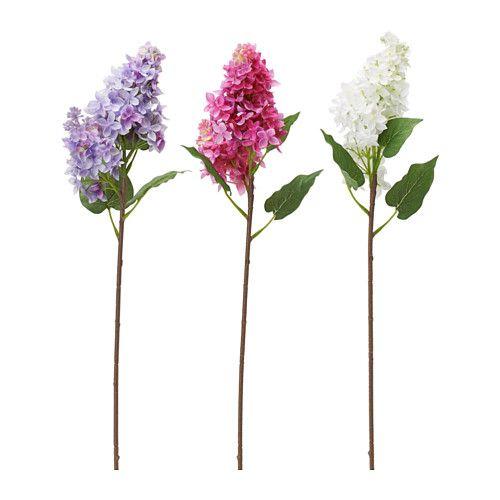 smycka fleur artificielle ikea lilas 3 99 d coration ikea pinterest fleurs. Black Bedroom Furniture Sets. Home Design Ideas