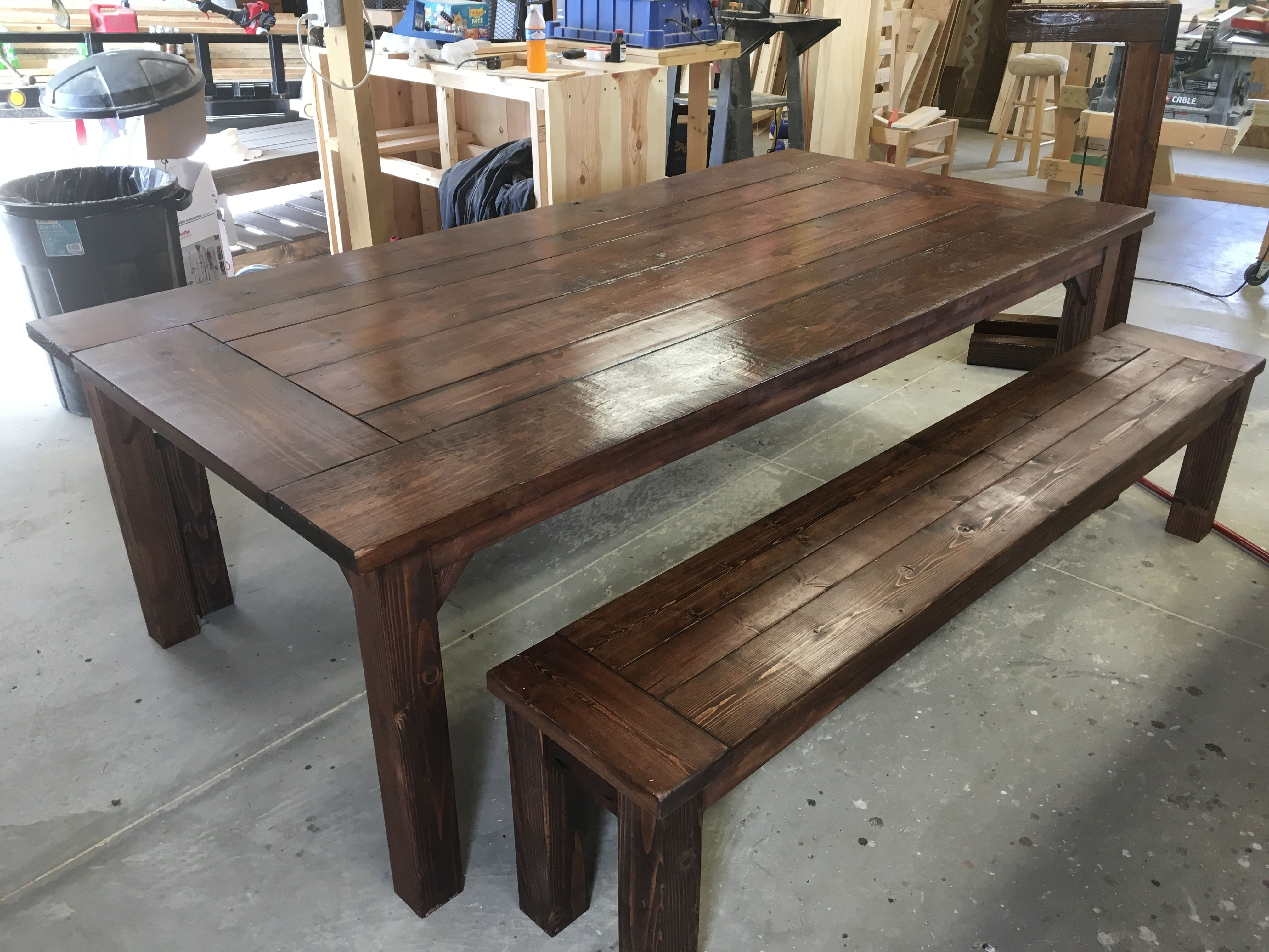 Build 4ft X 8ft Farmhouse Table