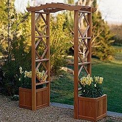 I can totally see making this planter archway. Nice.