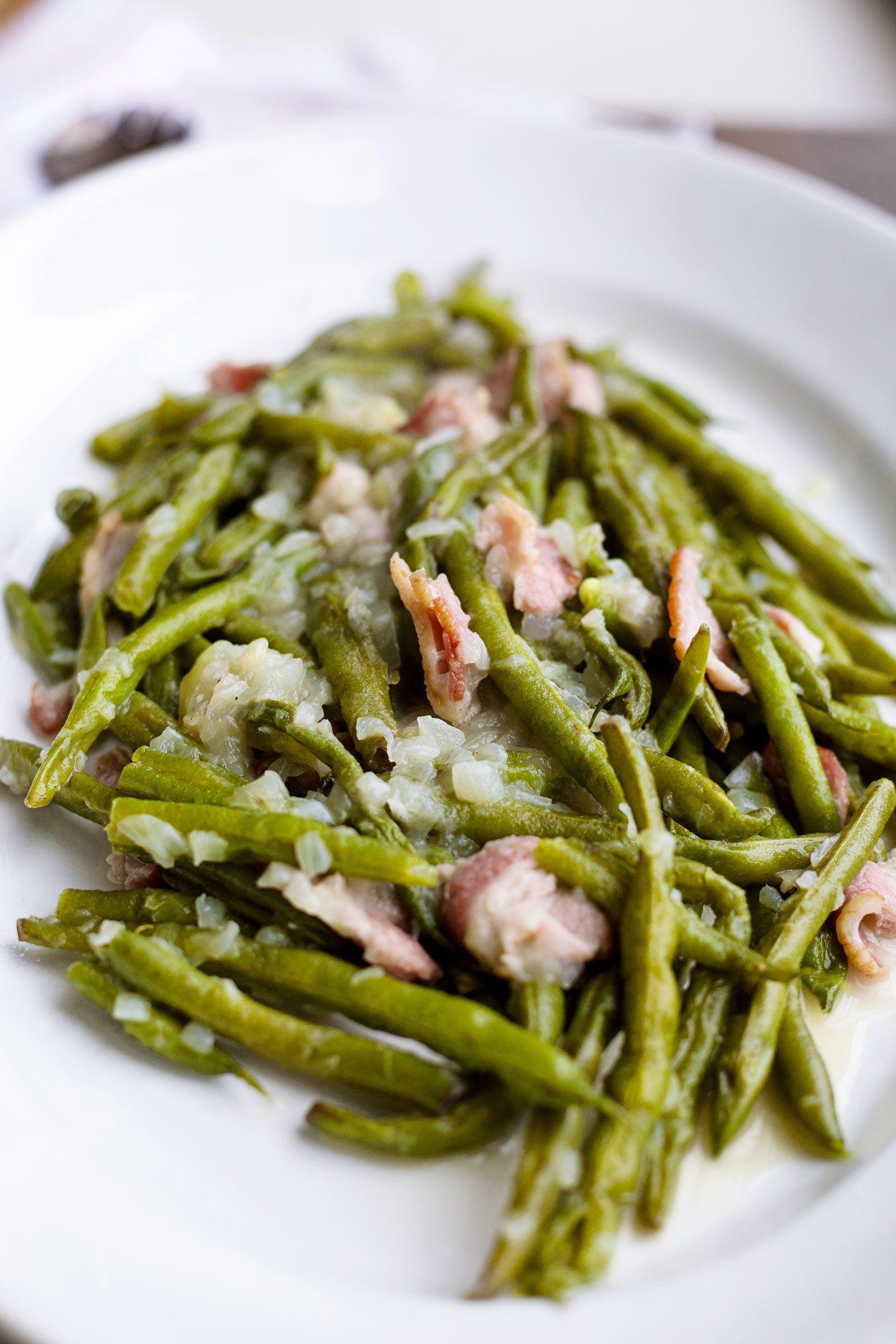 Old Fashioned Southern Green Beans AMY CAKES in 2020
