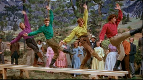 "Seven Brides for Seven Brothers. (1954) ""Barn raising ..."