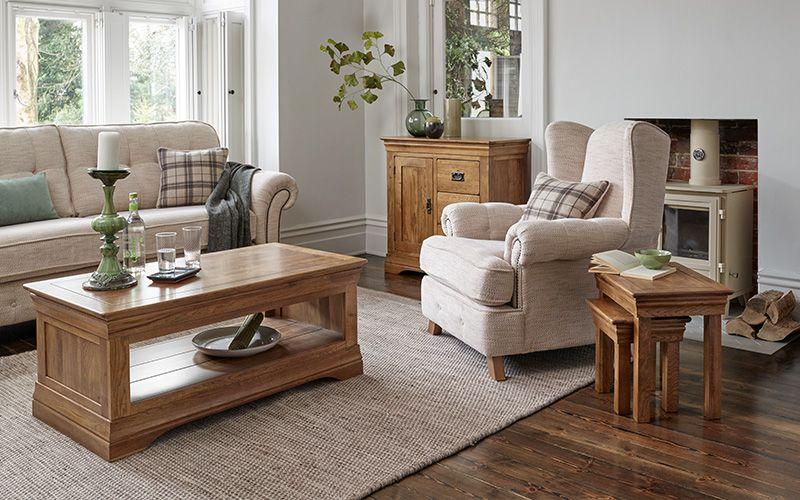 Rustic Living Room Furniture Farmhouse Design Ideas Oak Furnitureland Oak Furniture Living Room Wooden Living Room Furniture Farmhouse Living Room Table