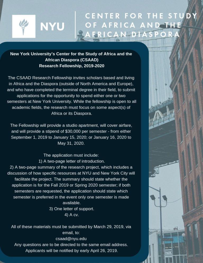 Postdoctoral Fellowship | Mes enregistrements