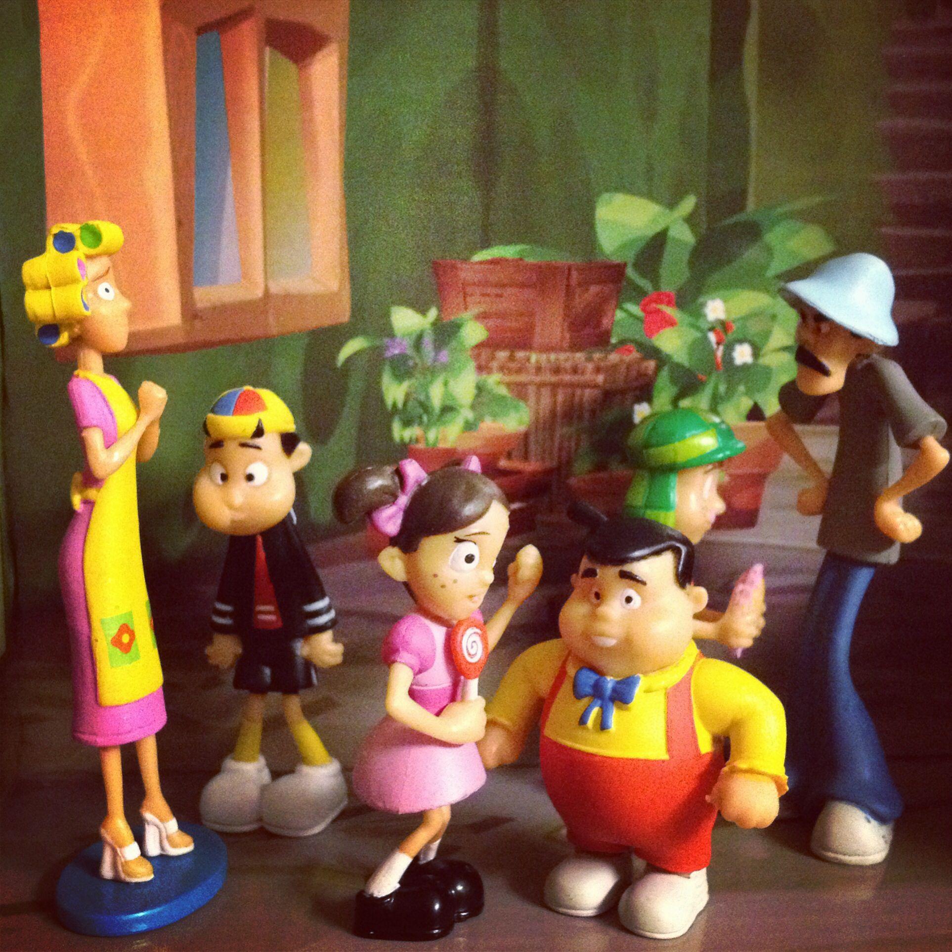 La Vecindad Del Chavo 8 Toy Fanfare Porcelana Fr