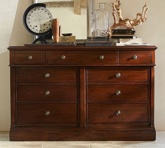 Branford Extra Wide Dresser Pottery Barn Bedroom Pinterest Wide Dresser Dressers And