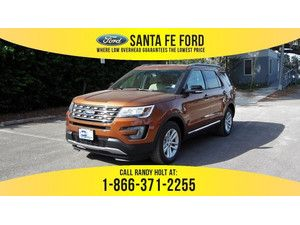 2017 White Gold Ford Explorer Xlt 365531 With Images Ford