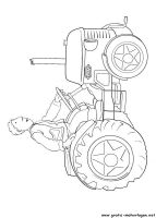 ausmalbilder kleiner roter traktor #ausmalbilder #kleiner
