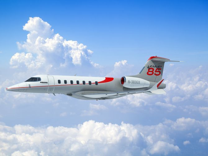 Why not new design Learjet 85 aircraft payware? for FSX
