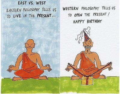 Free Funny Birthday Cards Happy Yoga Jokes Wishes Buddha