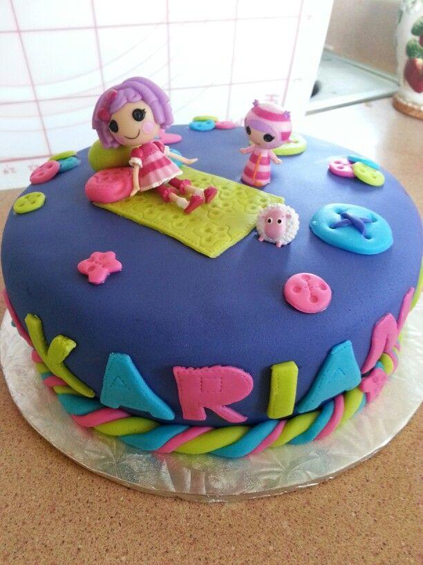 Lalaloopsi cake.