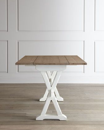 harper drop leaf table at horchow for craft work space  or