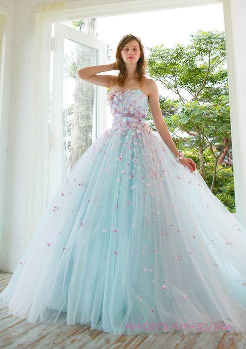 カクテルドレス | カラードレス | Pinterest | Princess, Gowns and Prom