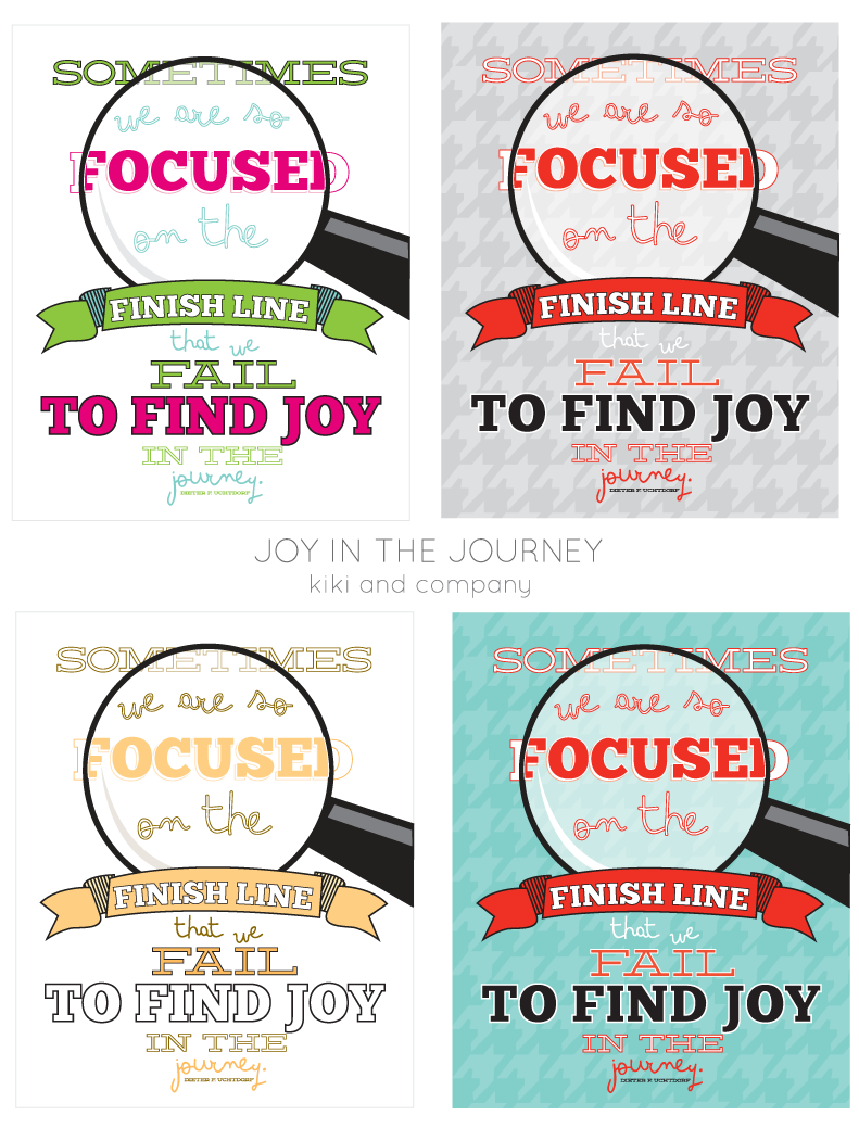 Joy in the Journey free printable at kiki and company #free ...