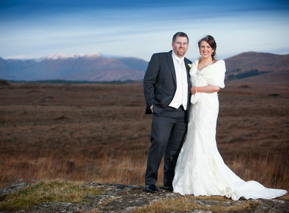 """Tom and Ann-Marie were married 28, December 2014 at Saint Joseph's Church, Letterfrack. The ceremony was followed by a reception at the Galway Bay Hotel, Galway.  