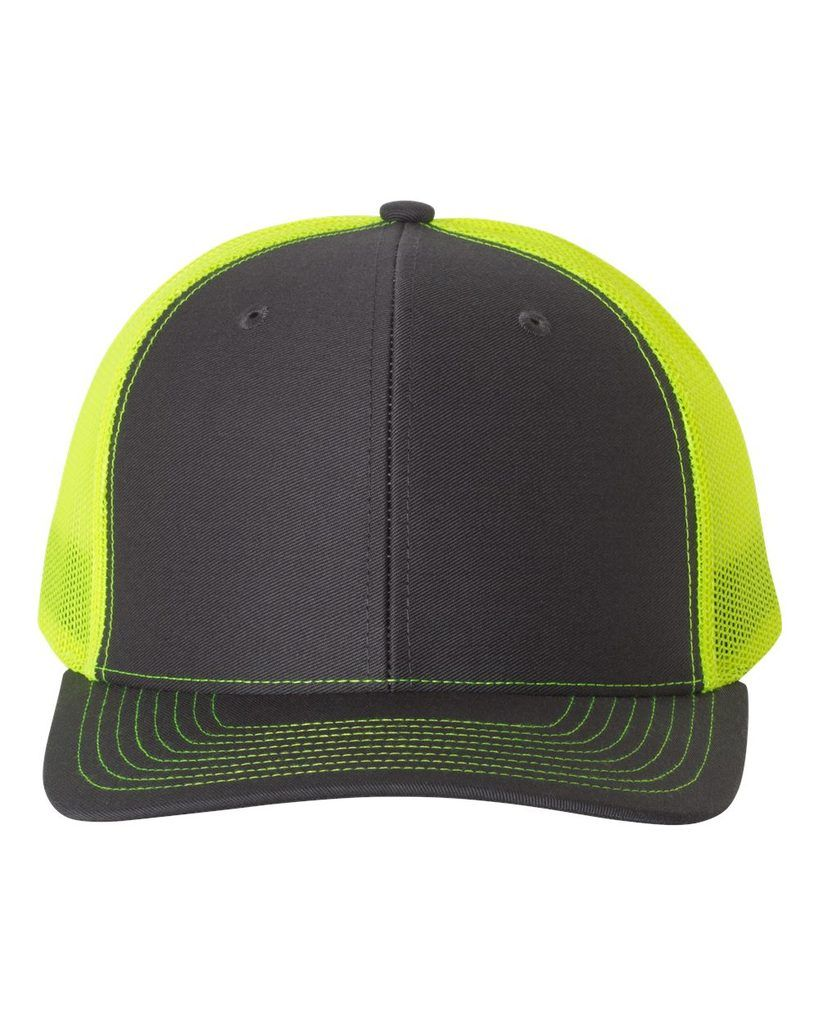 7aa4d1cf Charcoal Neon Yellow - Snapback Trucker Hat | Livin' on a Prairie ...