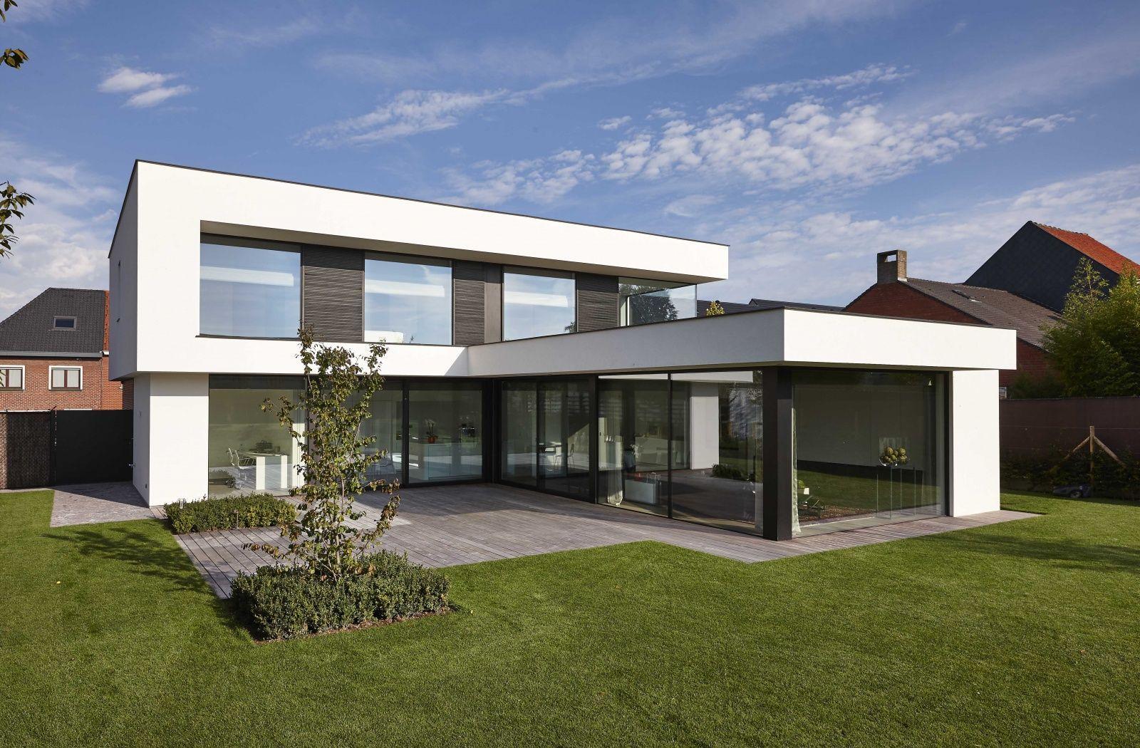 Flachdachbungalow Modern dumobil l shaped house modern architecture house