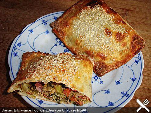 Brokkoli - Quarktaschen mit Frischkäse