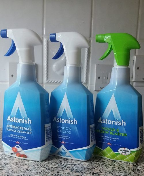 Giveaway Win 50 Of Astonish Cleaning Products Cleaning House